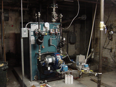 Steam Heating Boiler Service in Pontiac Michigan