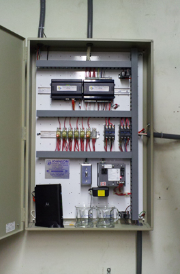Commercial Building Automation Controls Cabinet Michigan